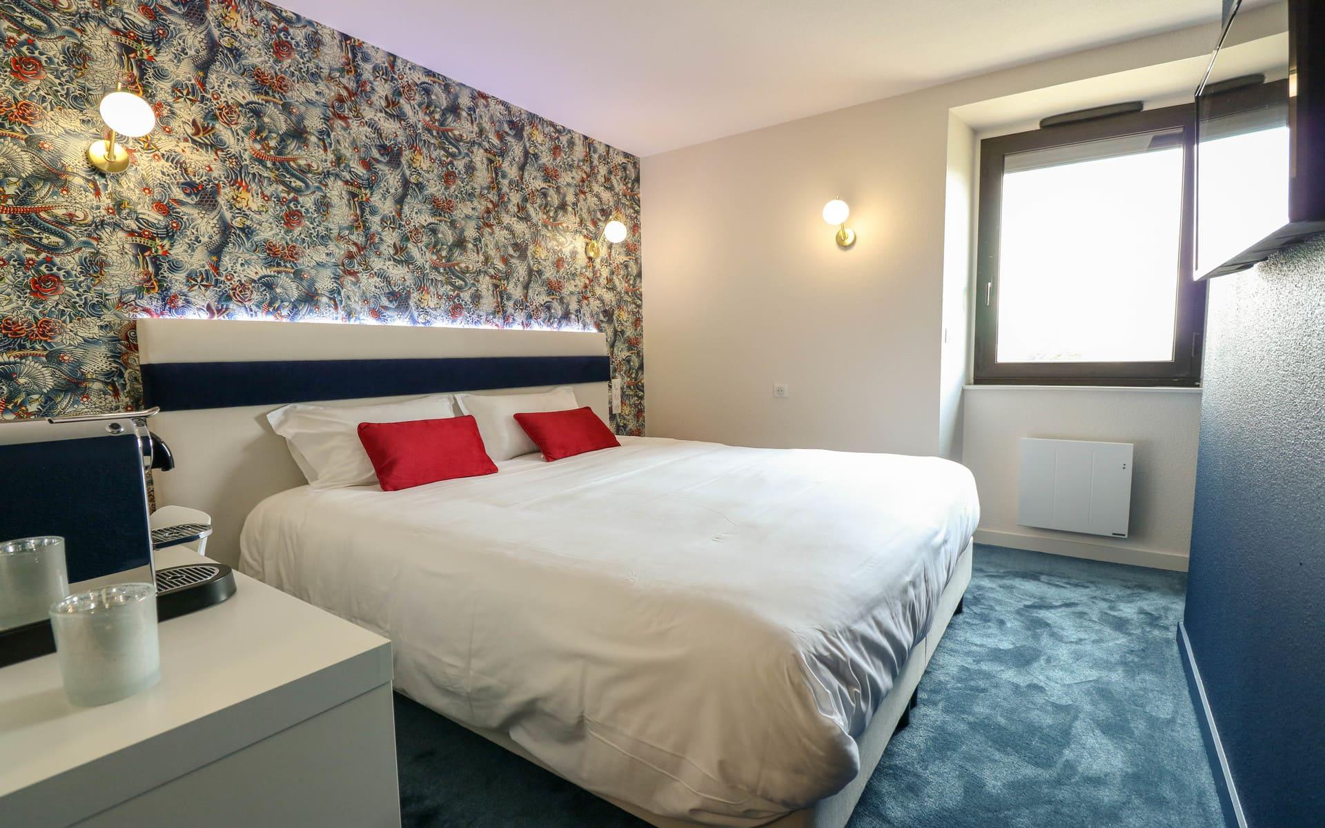 Chambres double deluxe - Hôtel 3 étoiles parc exposition Rennes