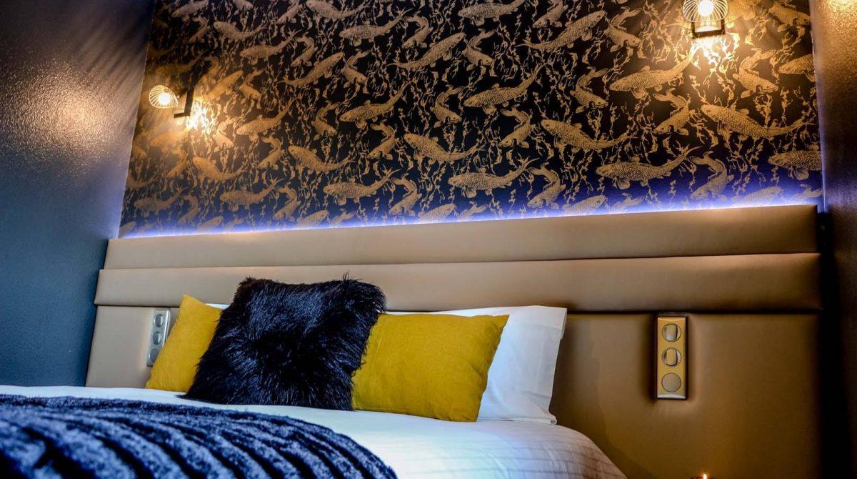 Chambres deluxe décorées Hôtel 3 étoiles Rennes aéroport