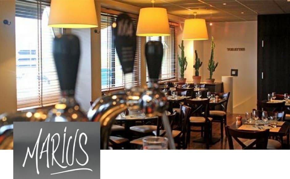 Brasserie pizzeria Marius - Hôtel L'Ortega 3 étoiles Rennes